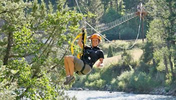 Zipline Tours In Jackson Hole Wyoming Seejh Com